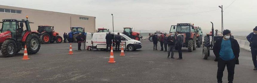 Sincan Ziraat Odasi Traktor Muayene