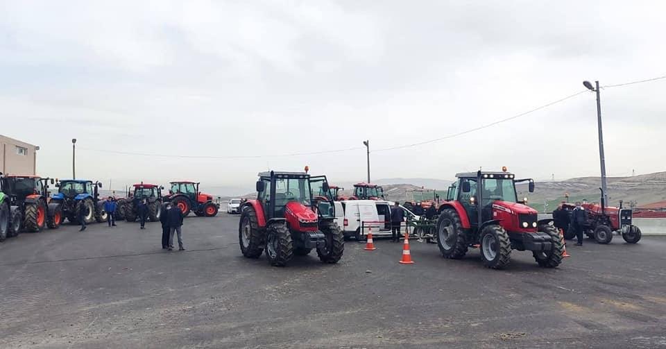 Traktor Muayene Tuvturk Sincan Ziraat ODasi